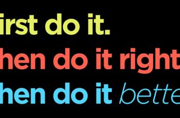 Perfeccionismo: Feito é melhor que perfeito!